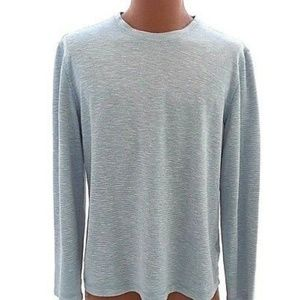 Orvis Thermal Shirt Mens Gray Crew Neck Hipster